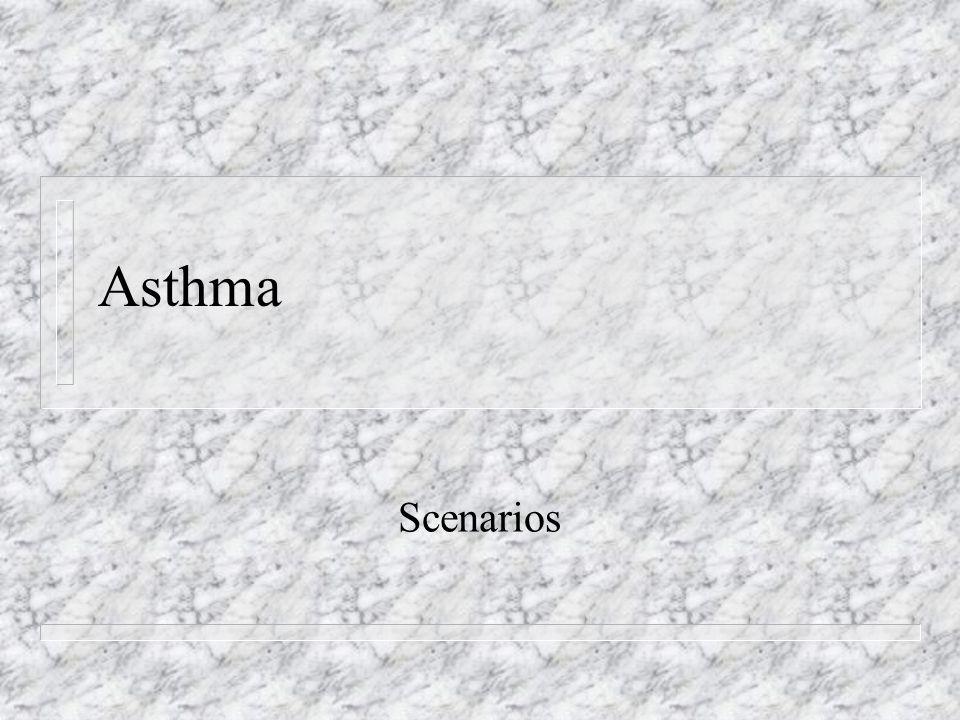 Asthma Scenarios