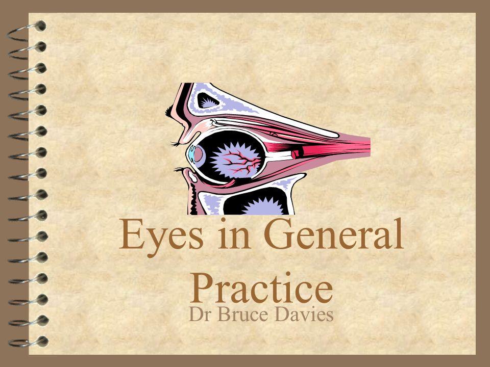 Eyes in General Practice Dr Bruce Davies