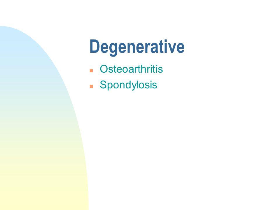 Rheumatic n Rheumatoid Arthritis n Ankylosing Spondylitis
