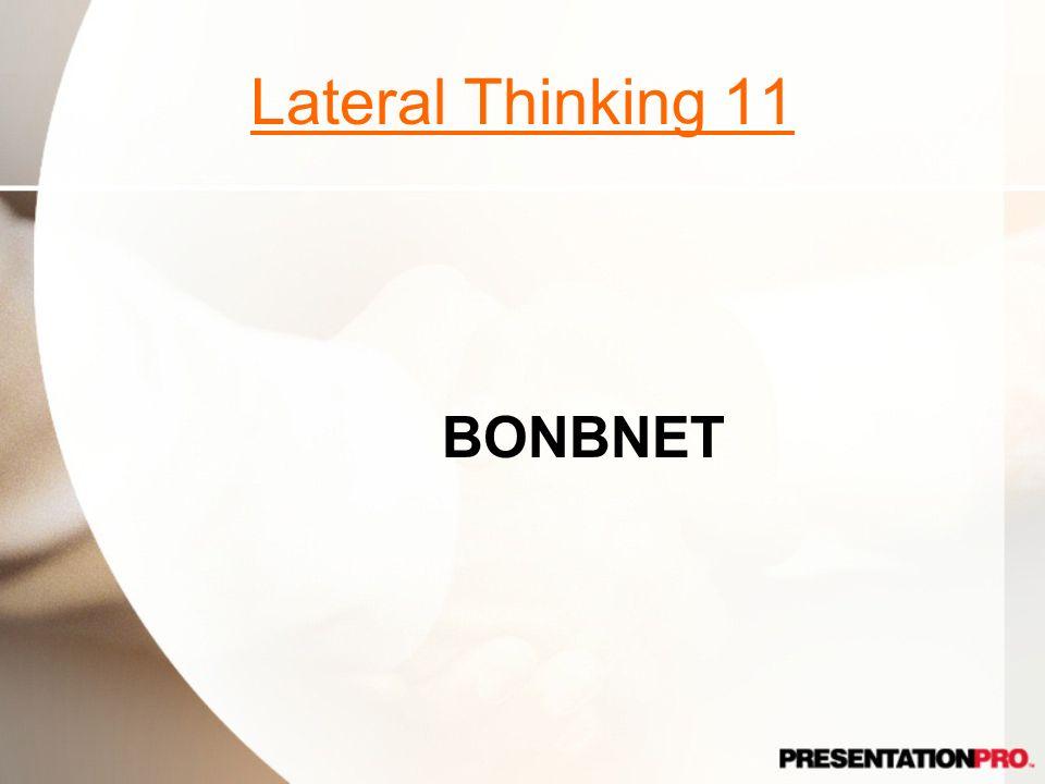 Lateral Thinking 11 BONBNET
