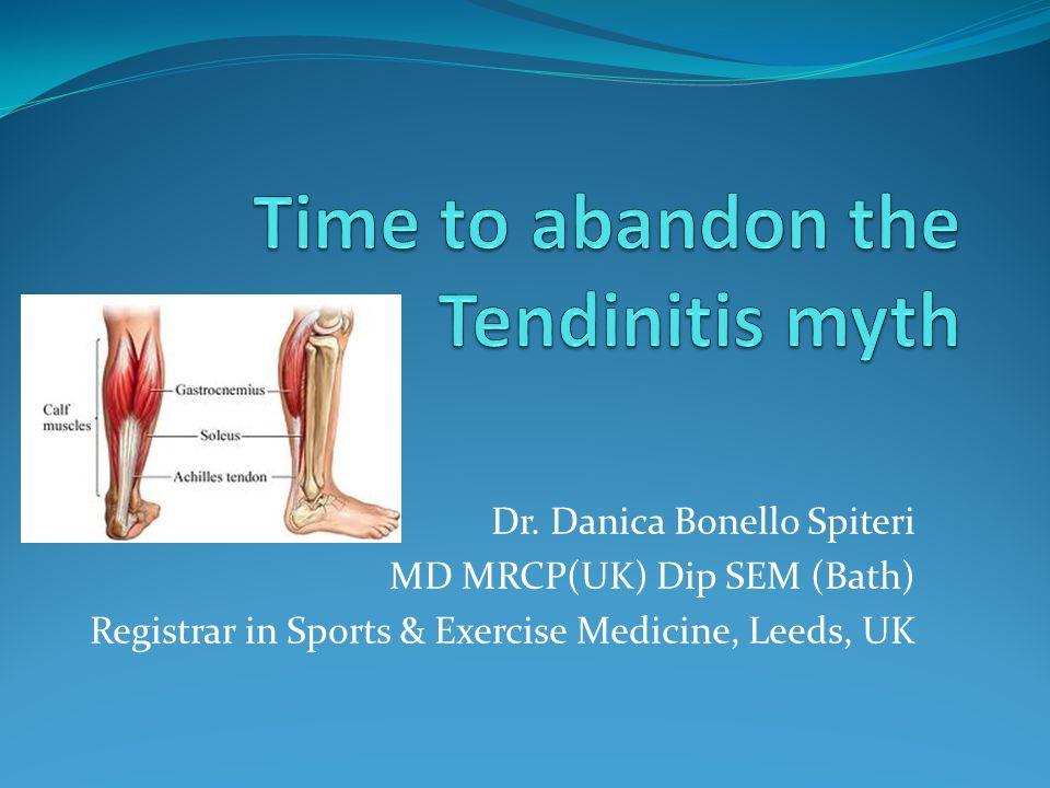 Dr. Danica Bonello Spiteri MD MRCP(UK) Dip SEM (Bath) Registrar in Sports & Exercise Medicine, Leeds, UK