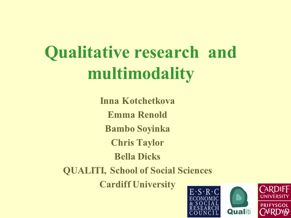 Why is multimodality potentially of interest to social researchers?
