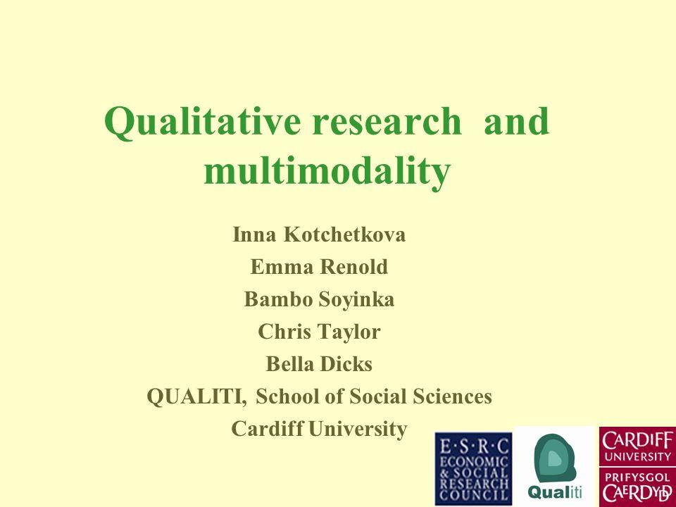 Presentation 1 Multimodality Inna Kotchetkova