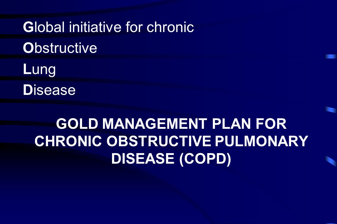 HOW SHOULD COPD BE MANAGED IN PRACTICE.