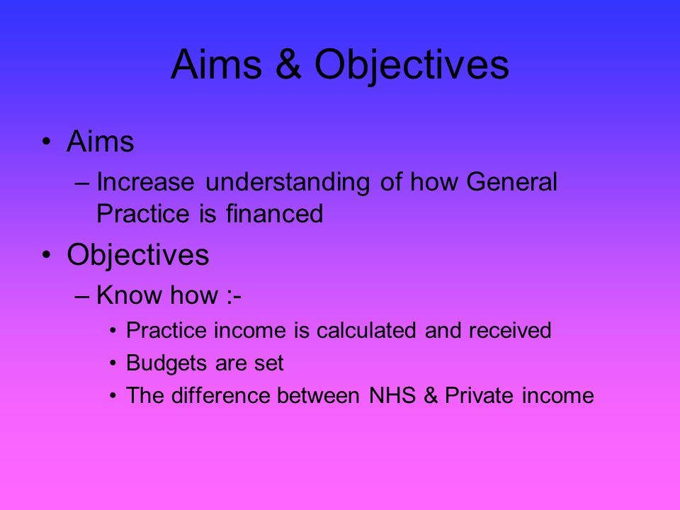 GMS v PMS Little difference now PMS probably slightly higher earning practices due to historic funding.