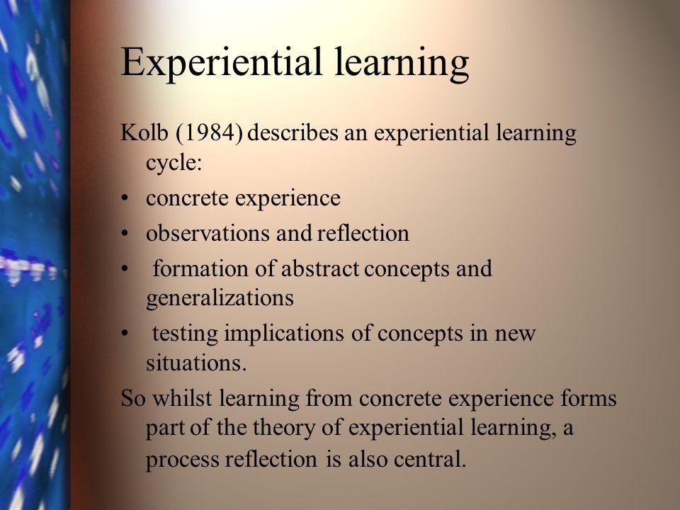 Reflective practitioner Schön (1983) developed the concept of the Reflective Practitioner.