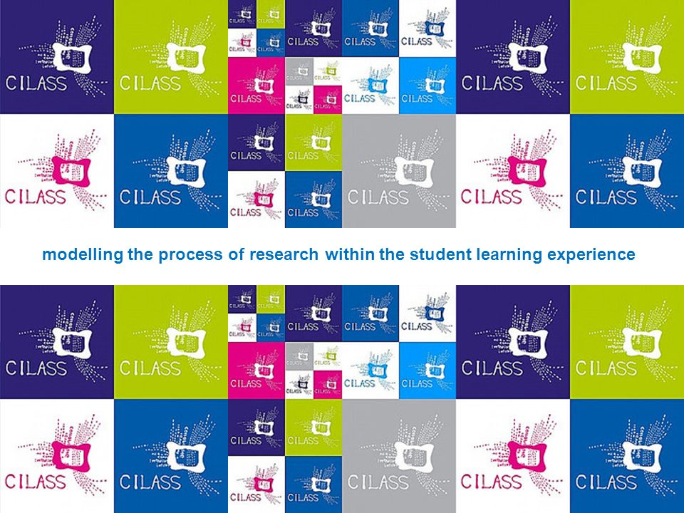 modelling the process of research within the student learning experience