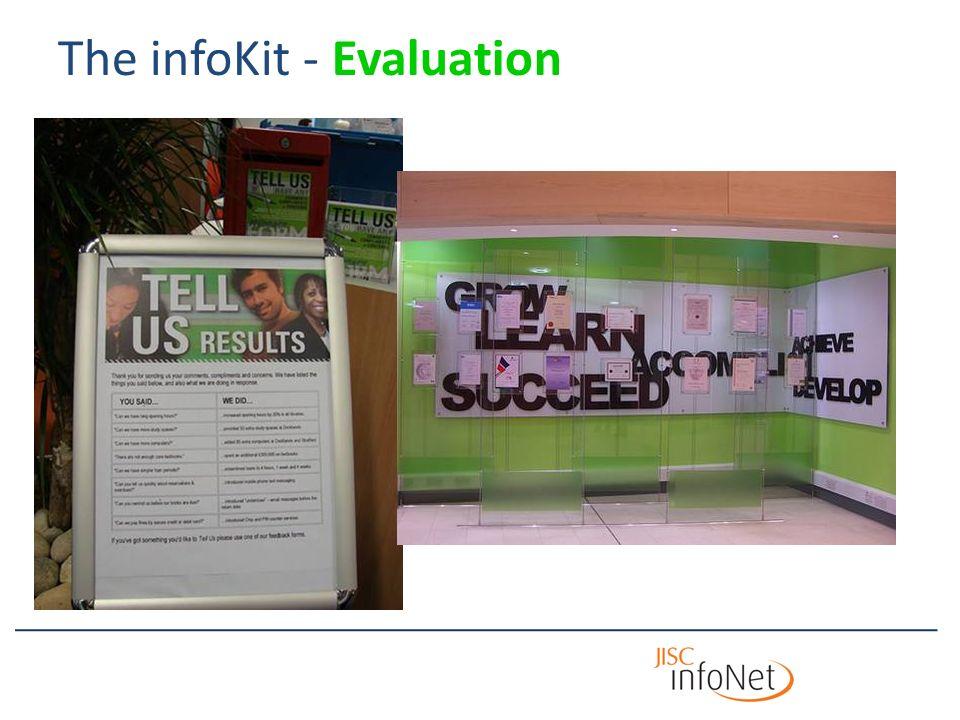 The infoKit - Evaluation