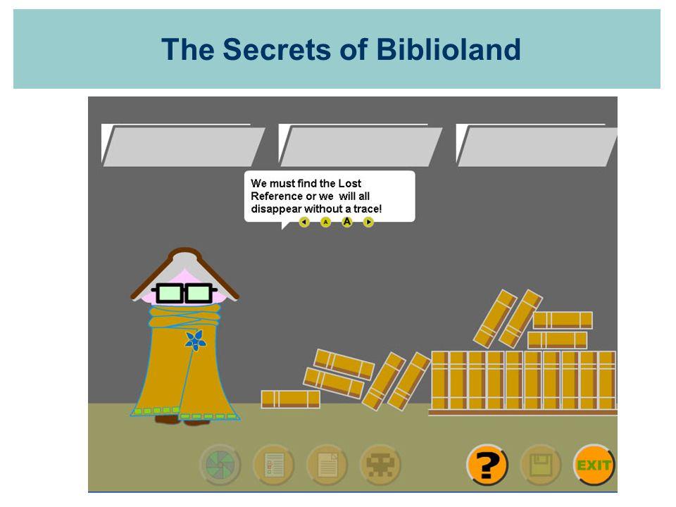The Secrets of Biblioland