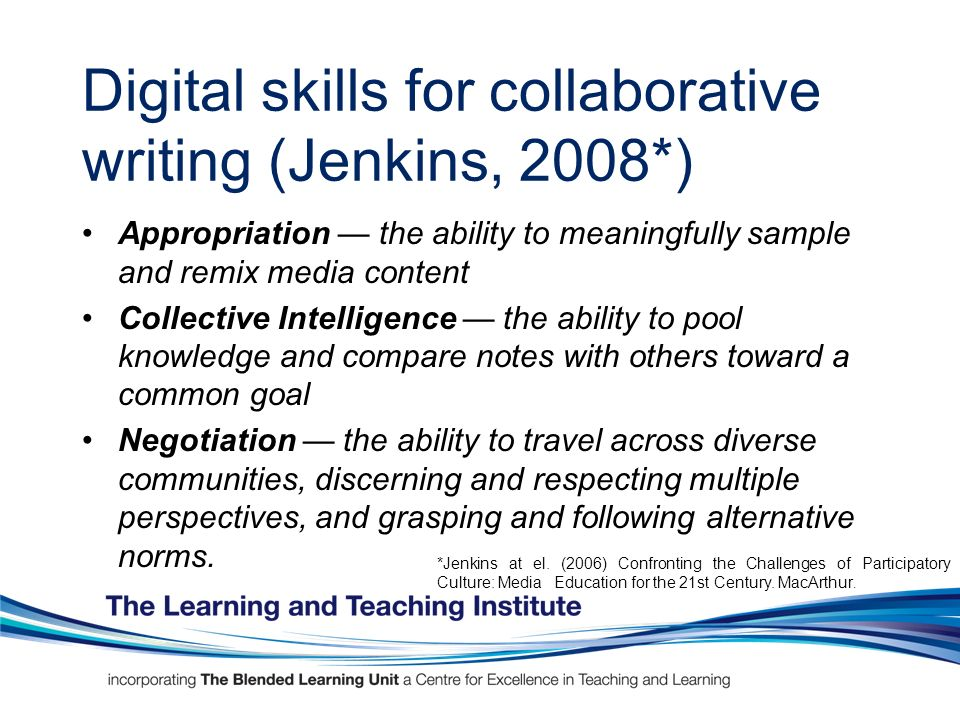 ITMB* Degree Learning Outcomes present, argument, explain using different media use knowledge to more effectively complete challenging business assignments gain insight into the preferences, motivations, strengths and weaknesses of other people influencing and persuading others constructively develop self-reliance and ability to self-start giving and receiving direct feedback constructively *ITMB (2006) Information Technology Management for Business Honours Degree Learning Outcomes & Skills Requirements, e-skills UK