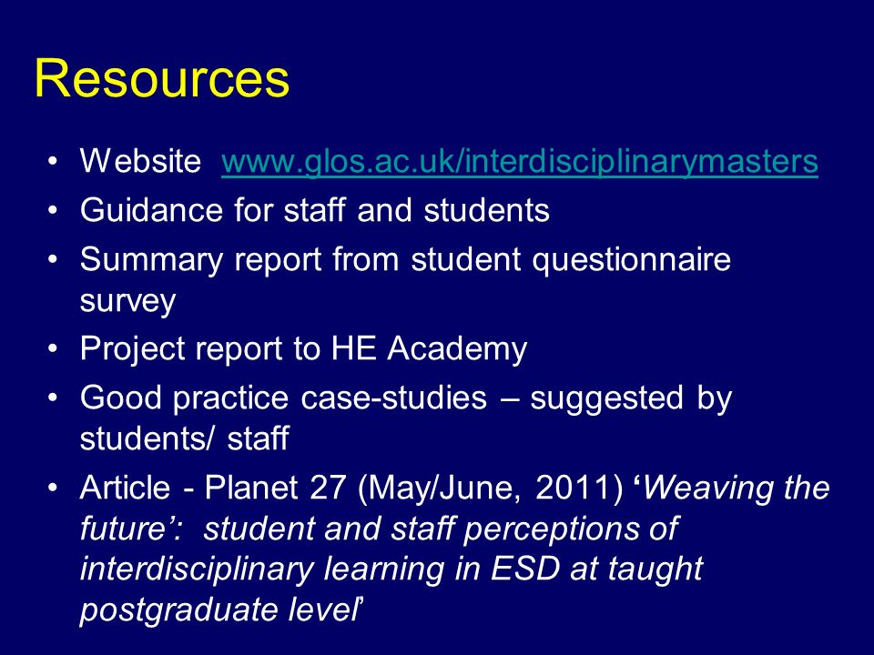 Courses surveyed: