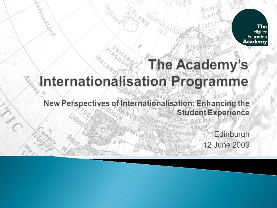 In the Curriculum: includes examples submitted by staff in Scotland from a range of disciplines, plus three problem-based case studies designed to develop cross-cultural competencies and understanding.