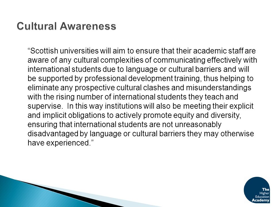 What professional development training does your institution provide (or plan to provide) to raise staff awareness of the cultural complexities of communicating effectively with international students due to language or cultural barriers.