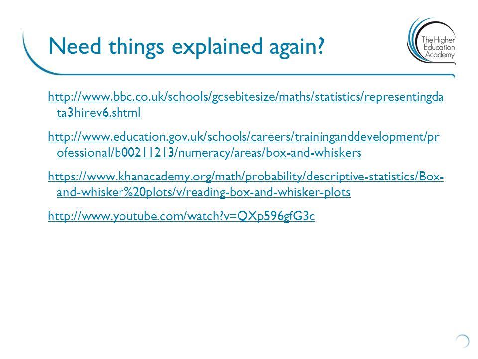 http://www.bbc.co.uk/schools/gcsebitesize/maths/statistics/representingda ta3hirev6.shtml http://www.education.gov.uk/schools/careers/traininganddevel