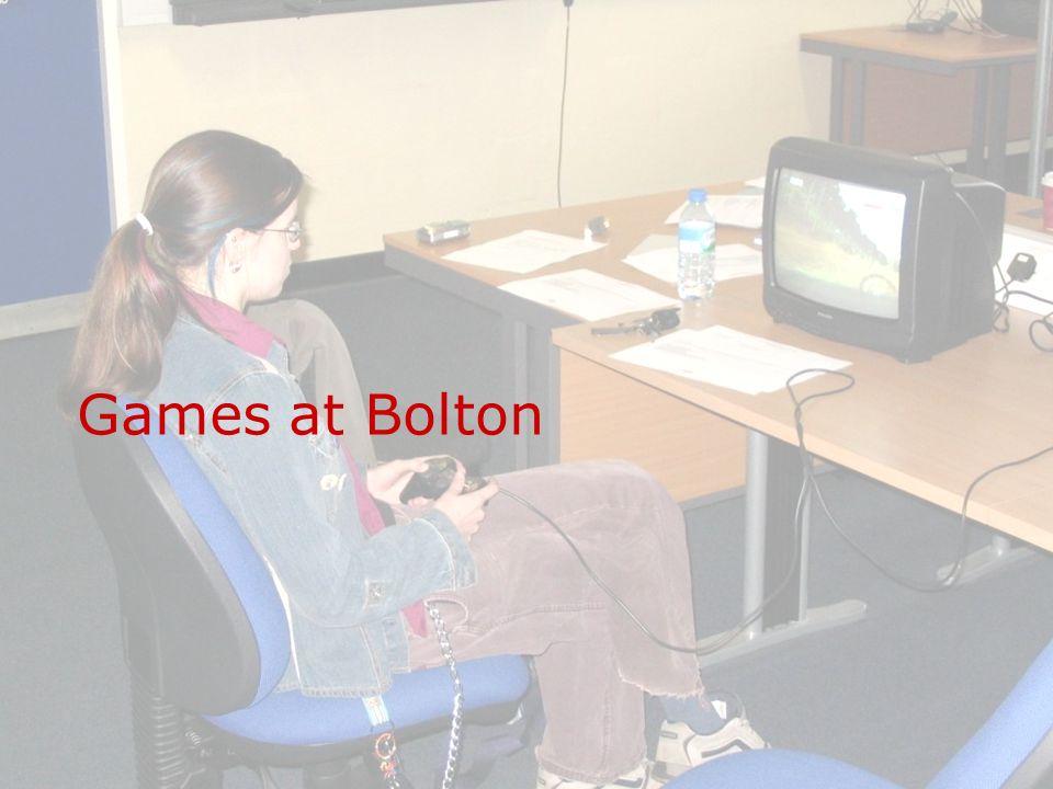 Games at Bolton