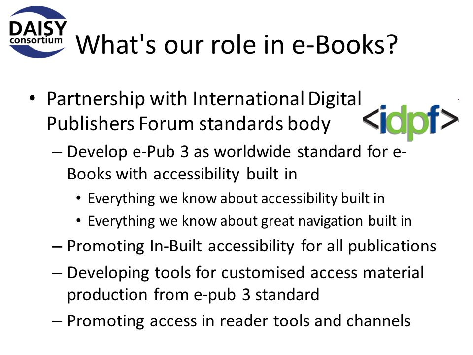 What s our role in e-Books.