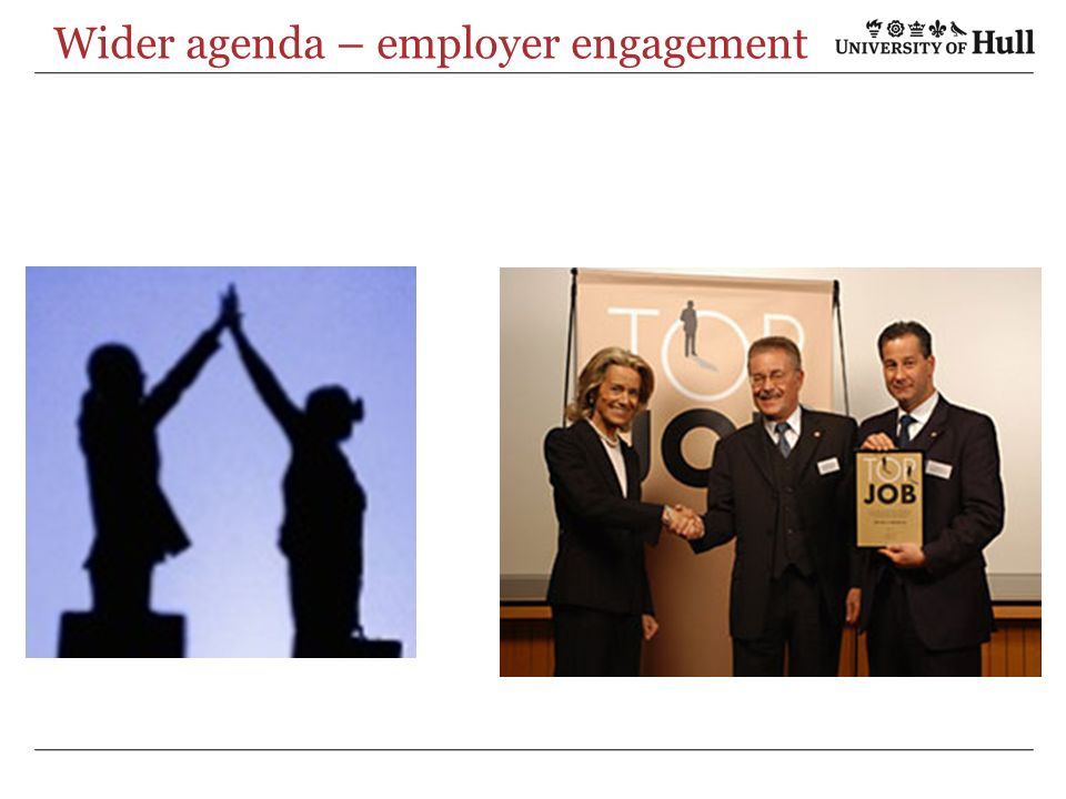 Wider agenda – employer engagement