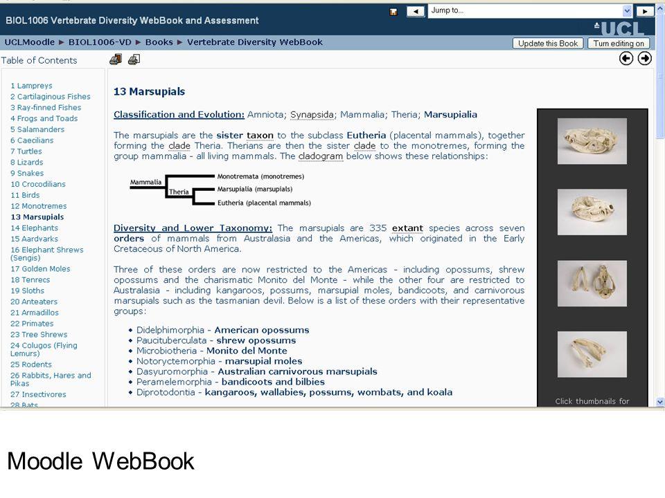 Moodle WebBook