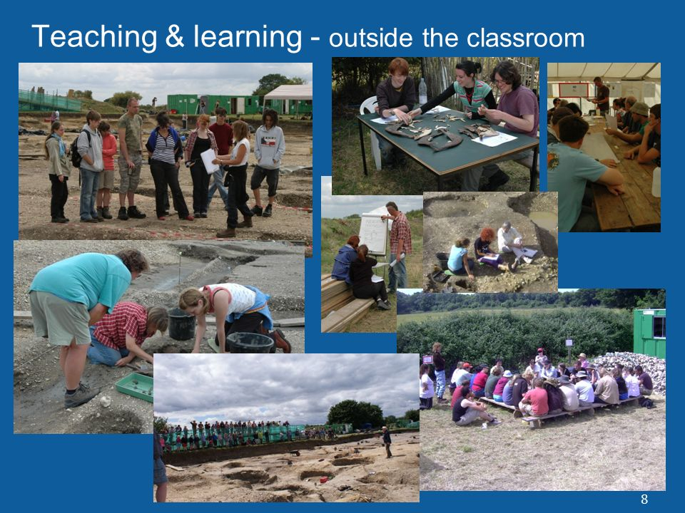 8 Teaching & learning - outside the classroom