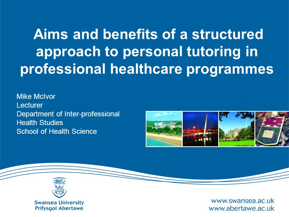 Aim To offer insights into the process of supporting cultural change in personal tutoring in a research led university