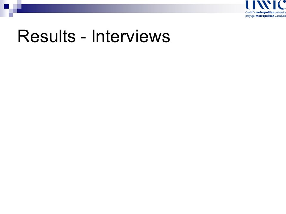 Results - Interviews