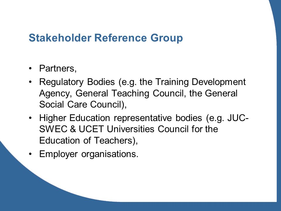 Recommendations (1) Government should involve HE as strategic partners in researching, developing and implementing policy & practice for the ICS workforce, nationally & regionally; Universities should strengthen their links with SSCs and employers and appoint ICS coordinators; Regulatory bodies should explore collaboration, building on initiatives like the Joint Statement of interprofessional values underpinning work with children and young people (GTC, GSCC, NMC);