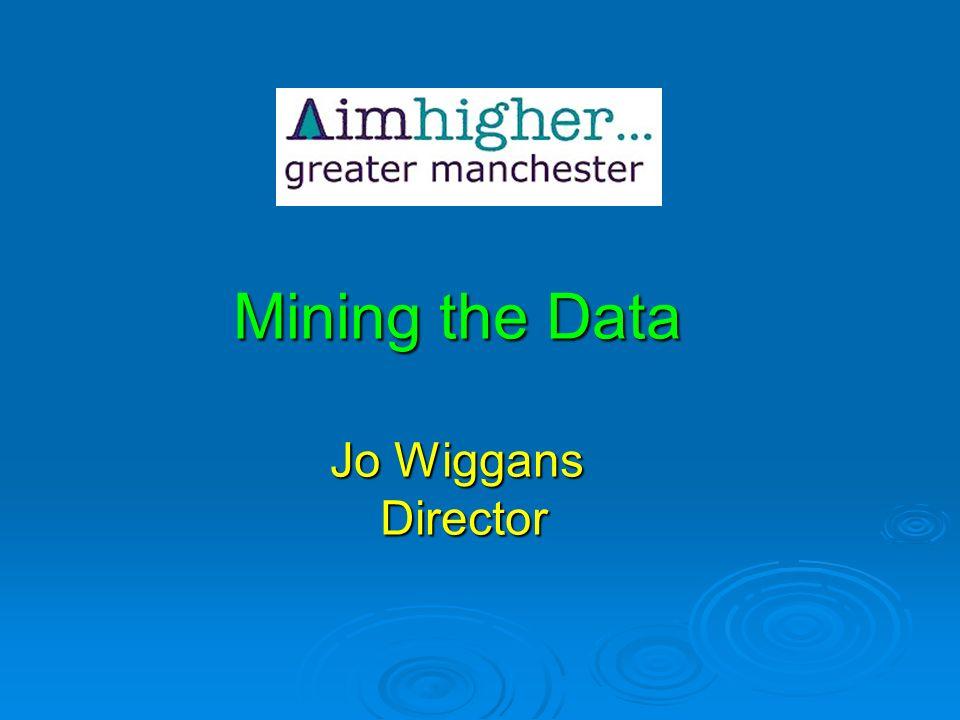 Mining the Data Jo Wiggans Director