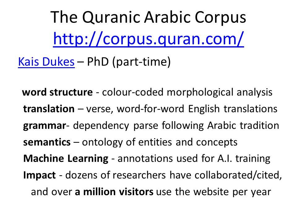 The Quranic Arabic Corpus Verified Uthmani Script - Unicode Uthmani Script - Sourced from the verified Tanzil project