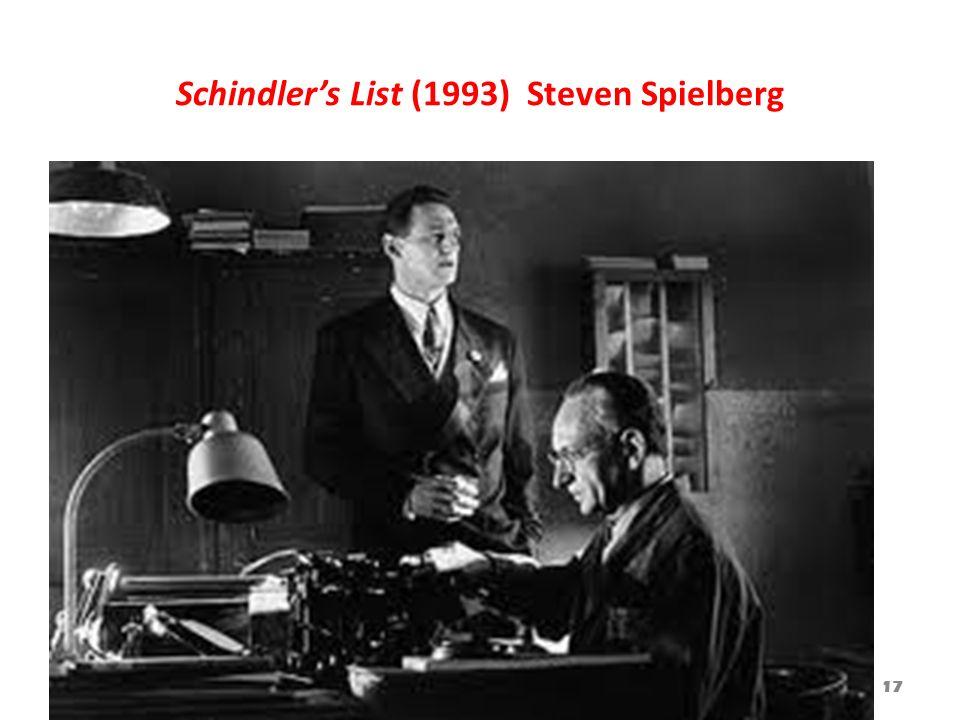 Schindlers List (1993) Steven Spielberg 17