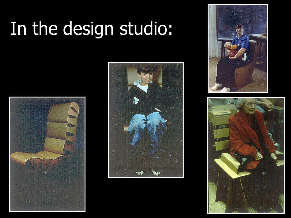 In the design studio: