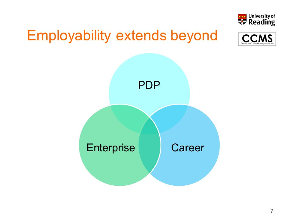 Employability extends beyond 7