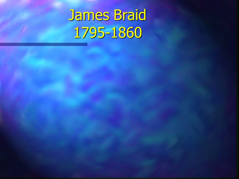 James Braid 1795-1860