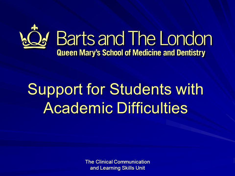 12 Support for Students with Academic Difficulties