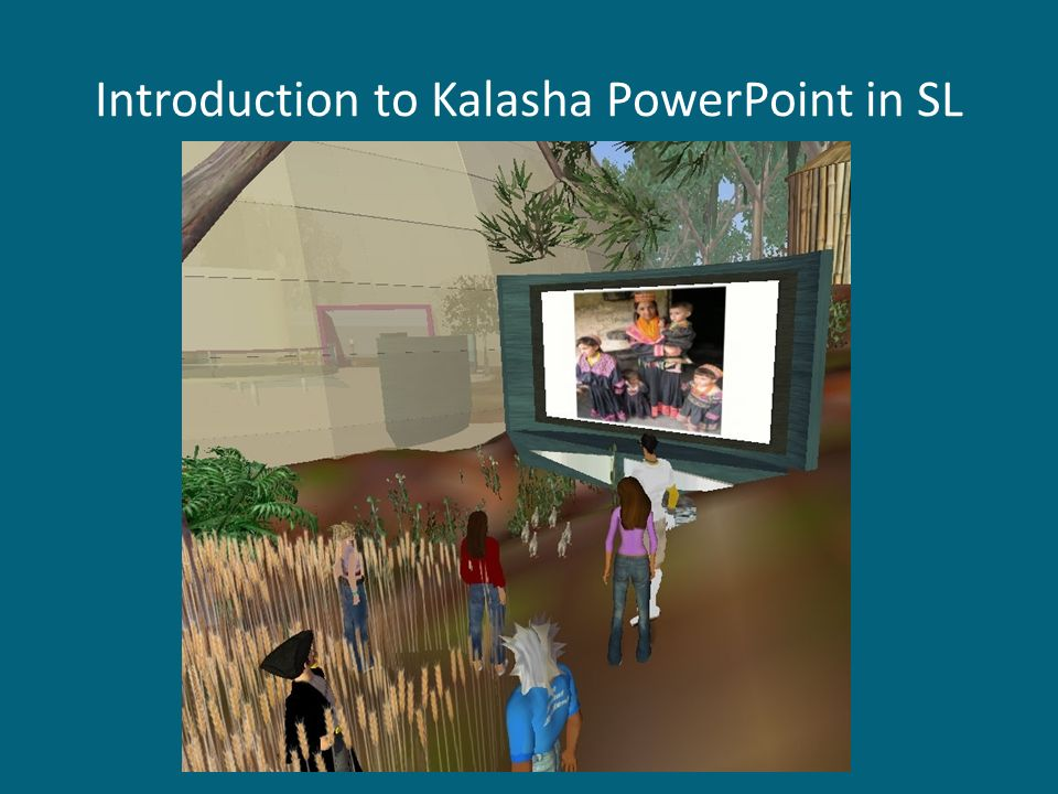 Introduction to Kalasha PowerPoint in SL