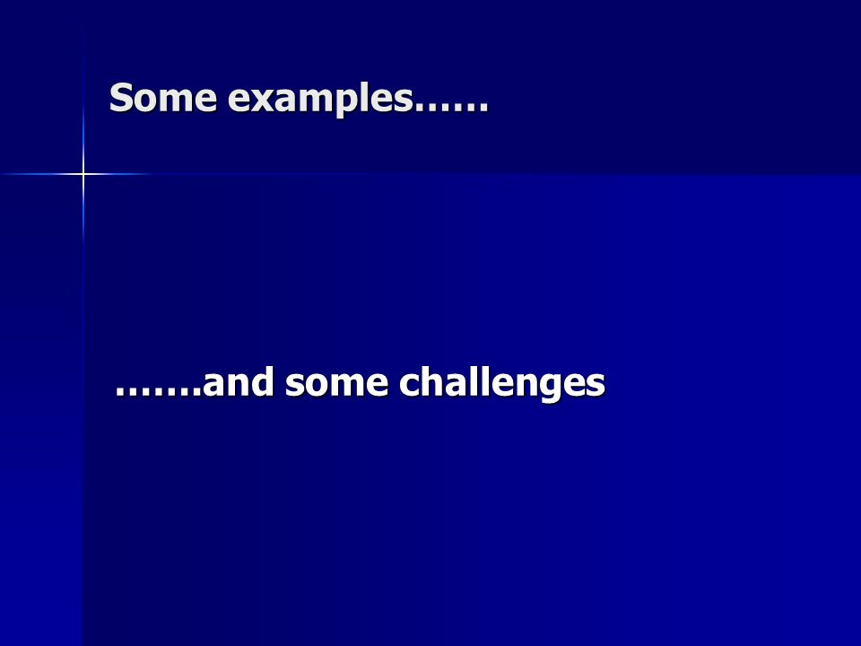 5 challenges for the use of this approach.