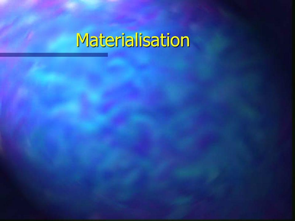 Materialisation