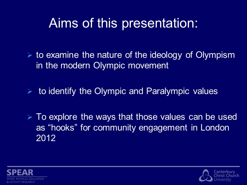 Modern Olympic Movement The International Olympic Committee (IOC) was founded in 1894 by Baron Pierre de Coubertin in Paris The ideology of Olympism has been since then the ideological platform against which the Olympic Games take place and materialise.