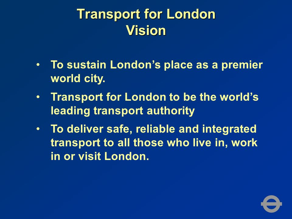 To sustain Londons place as a premier world city.