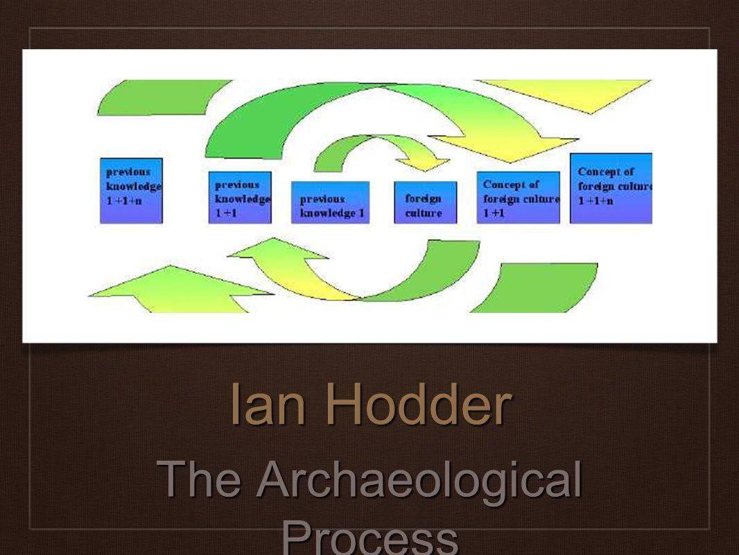 Ian Hodder The Archaeological Process