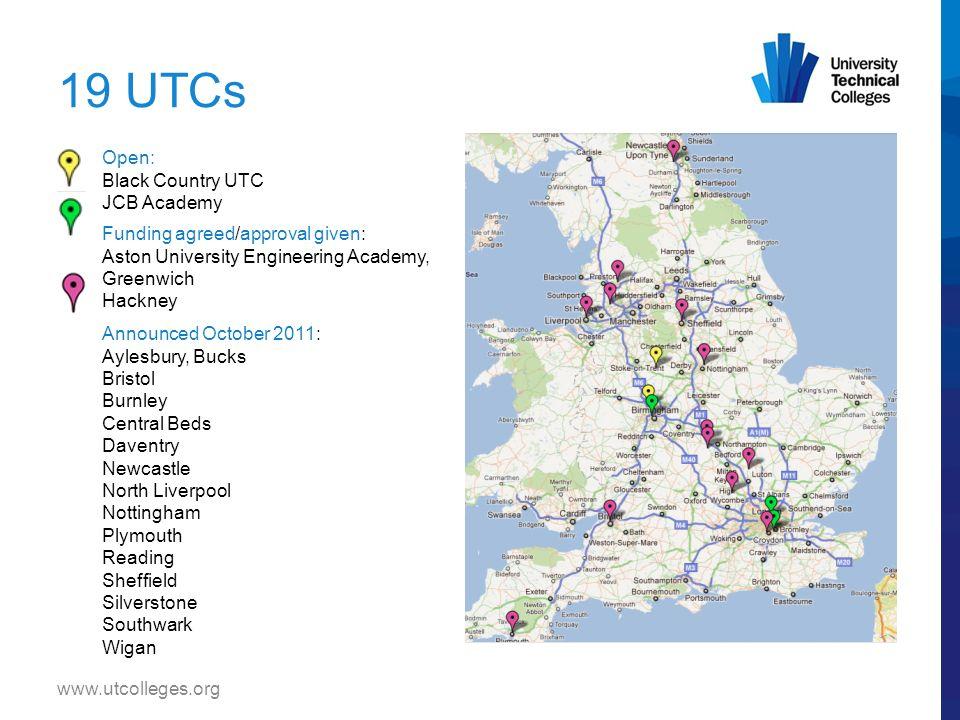 www.utcolleges.org Launch of Aston University Engineering Academy