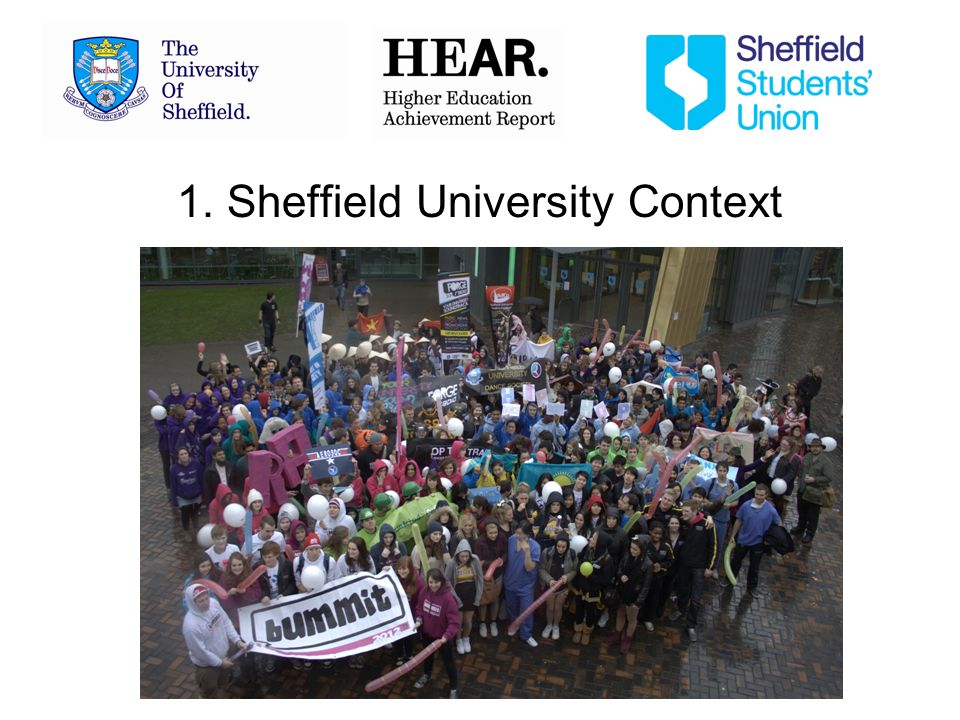 1. Sheffield University Context