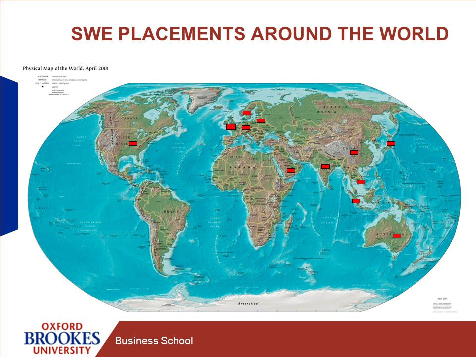 Business School SWE PLACEMENTS AROUND THE WORLD