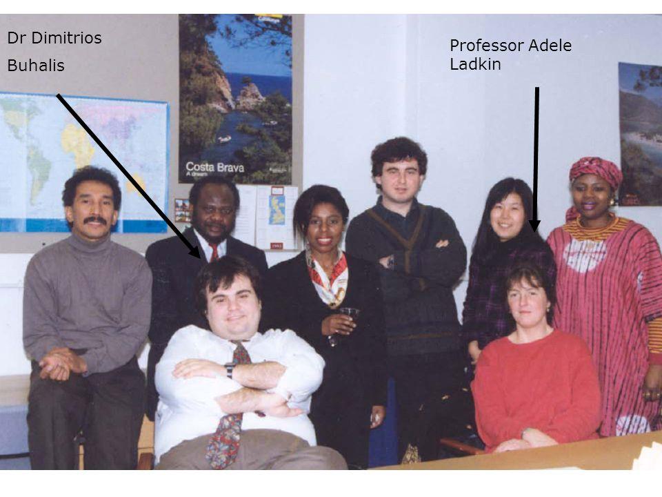 Dr Dimitrios Buhalis Professor Adele Ladkin