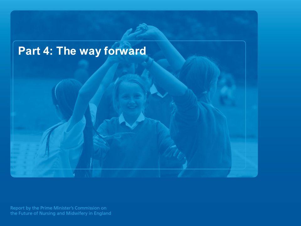 Part 4: The way forward