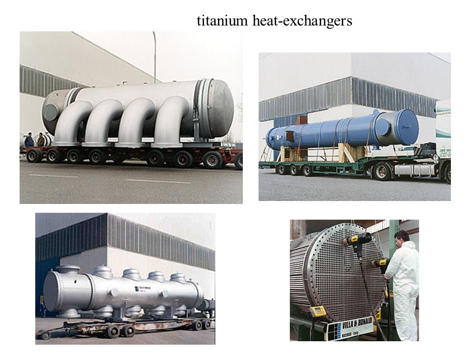 titanium heat-exchangers