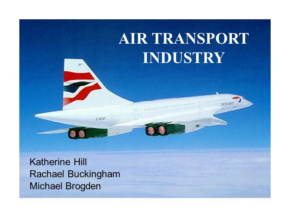 AIR TRANSPORT INDUSTRY Katherine Hill Rachael Buckingham Michael Brogden