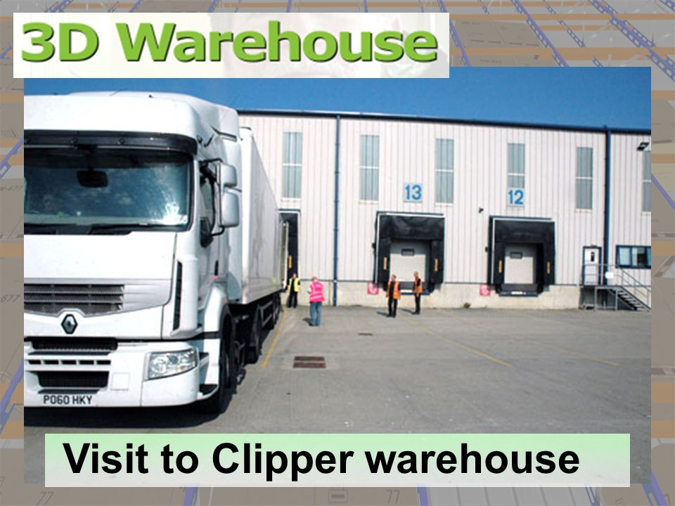 Visit to Clipper warehouse