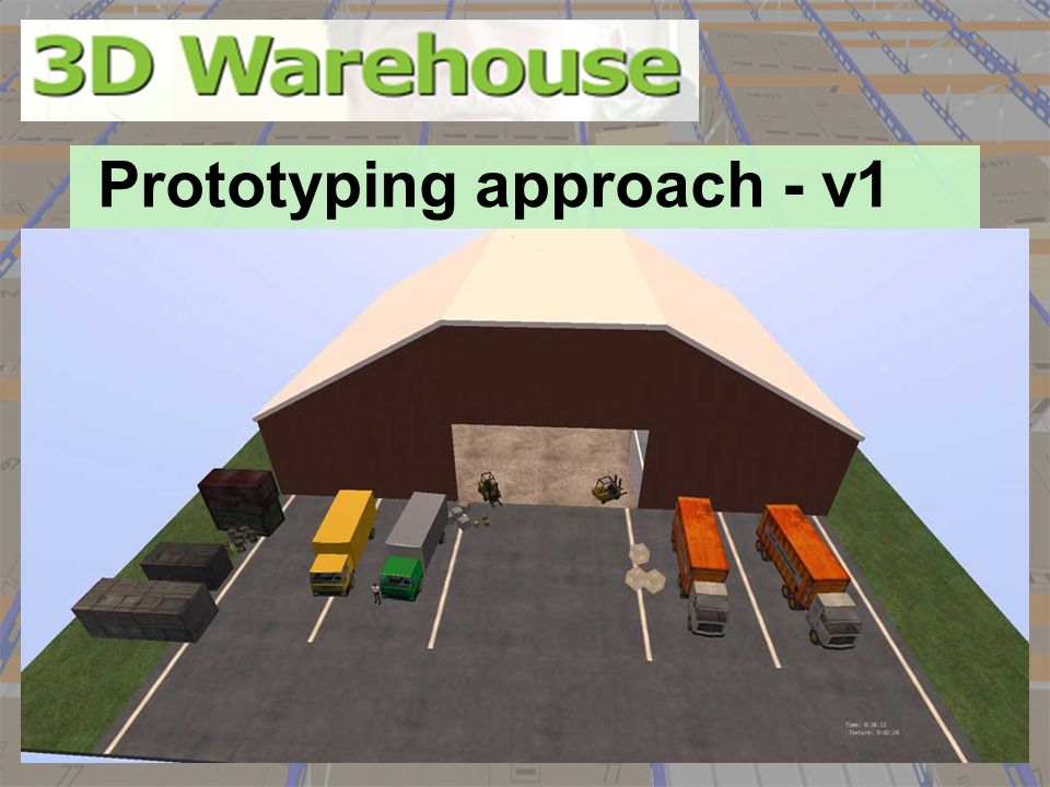 Prototyping approach - v1