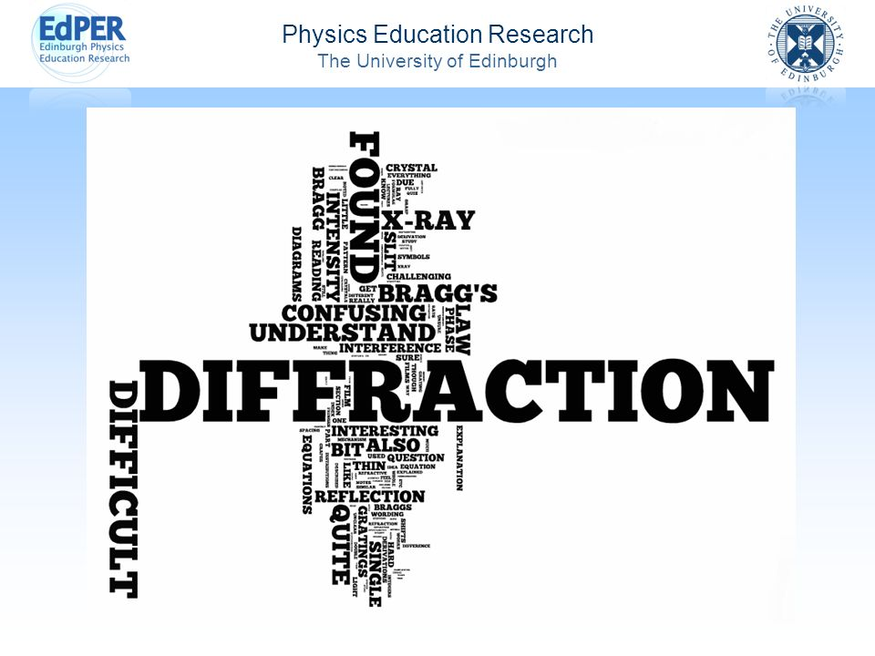 Physics Education Research The University of Edinburgh