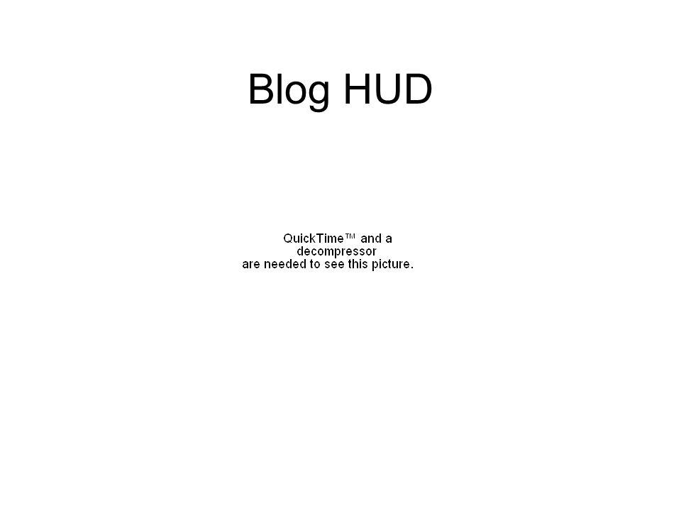 Blog HUD